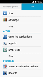 Huawei Ascend Y530 - Messagerie vocale - Configuration manuelle - Étape 3