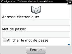 BlackBerry 9320 Curve - E-mail - Configuration manuelle - Étape 7