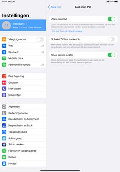 Apple iPad Pro 11 inch 2nd generation (2020) (Model A2230) - Beveiliging en ouderlijk toezicht - Zoek mijn iPad inschakelen - Stap 11