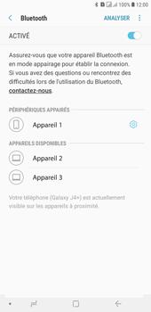 Samsung Galaxy J4+ - Internet et connexion - Connexion avec un équipement multimédia via Bluetooth - Étape 11