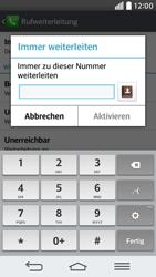 LG G2 mini - Anrufe - Rufumleitungen setzen und löschen - 0 / 0
