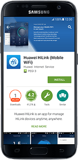 Huawei E5770 - Applications - download application for the smartphone - Step 8