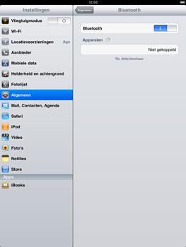 Apple iPad 2 - Bluetooth - koppelen met ander apparaat - Stap 6