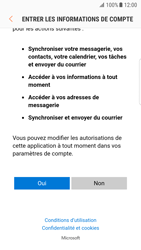 Samsung G935 Galaxy S7 Edge - Android Nougat - E-mail - Configuration manuelle (outlook) - Étape 8