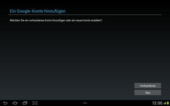Samsung Galaxy Tab 2 10.1 - Apps - Einrichten des App Stores - Schritt 4