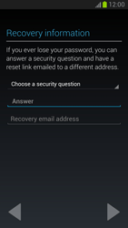 Samsung Galaxy Note II - Applications - Setting up the application store - Step 8
