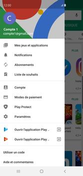 Samsung Galaxy S10 - Applications - Comment vérifier les mises à jour des applications - Étape 6