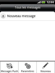 HTC A3333 Wildfire - SMS - Configuration manuelle - Étape 5