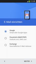 Samsung I9195 Galaxy S4 Mini LTE - E-Mail - Konto einrichten (gmail) - Schritt 8