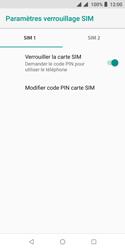 Wiko Harry 2 - Sécurité - modifier SIM PIN - Étape 7
