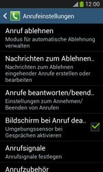 Samsung Galaxy Ace 3 - Anrufe - Anrufe blockieren - 6 / 14
