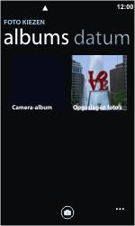 Nokia Lumia 710 - MMS - Afbeeldingen verzenden - Stap 7