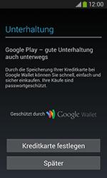 Samsung S7275 Galaxy Ace 3 - Apps - Konto anlegen und einrichten - Schritt 22