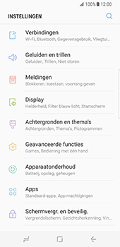 Samsung Galaxy S8 - wifi - handmatig instellen - stap 4