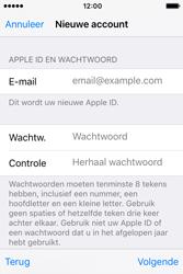 Apple iPhone 4S (iOS 9) - apps - account instellen - stap 12