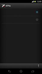 Sony Xperia T - Internet - Manuelle Konfiguration - Schritt 16