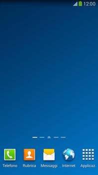 Samsung Galaxy Note III LTE - Operazioni iniziali - Installazione di widget e applicazioni nella schermata iniziale - Fase 3