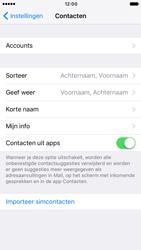 Apple iPhone 6s met iOS 10 (Model A1688) - Contacten en data - Contacten kopiëren van SIM naar toestel - Stap 4