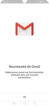 Huawei P30 Pro - E-mails - Ajouter ou modifier votre compte Gmail - Étape 4