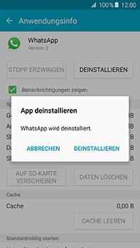 Samsung Galaxy A8 - Apps - Eine App deinstallieren - Schritt 8