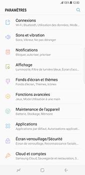 Samsung Galaxy S8 Plus - Internet et roaming de données - Comment vérifier que la connexion des données est activée - Étape 4