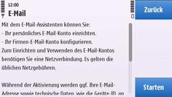 Nokia C6-00 - E-Mail - Konto einrichten - 3 / 3
