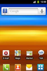 Samsung S5830i Galaxy Ace i - Wifi - handmatig instellen - Stap 1