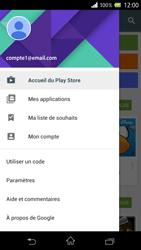 Sony Xperia Z - Applications - Comment vérifier les mises à jour des applications - Étape 5