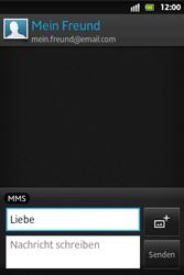 Sony Xperia Go - MMS - Erstellen und senden - 13 / 19