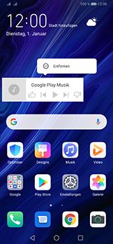Huawei P30 Pro - Startanleitung - Installieren von Widgets und Apps auf der Startseite - Schritt 9