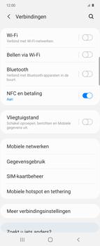 Samsung Galaxy Z Flip Single-SIM + eSIM (SM-F700F) - Bluetooth - Aanzetten - Stap 4
