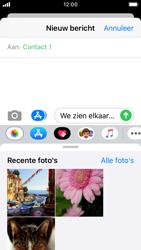Apple iPhone SE - iOS 13 - MMS - afbeeldingen verzenden - Stap 10