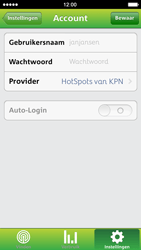 Apple iPhone 5 - WiFi - KPN Hotspots configureren - Stap 10