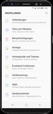 Samsung Galaxy Note 8 - WiFi - WiFi Calling aktivieren - Schritt 3
