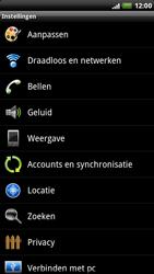 HTC X515m EVO 3D - bluetooth - aanzetten - stap 4