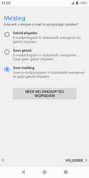 Sony xperia-xz2-compact-h8314-android-pie - E-mail - Account instellen (POP3 zonder SMTP-verificatie) - Stap 20