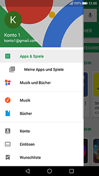 Huawei P10 Plus - Apps - Nach App-Updates suchen - Schritt 4