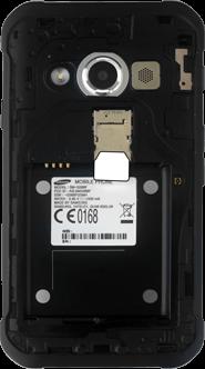 Samsung Galaxy Xcover 3 - SIM-Karte - Einlegen - 3 / 8