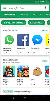 Huawei P Smart - Applicaties - Download apps - Stap 3