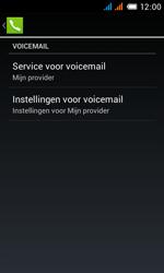 Alcatel OT-4033X Pop C3 - Voicemail - handmatig instellen - Stap 10