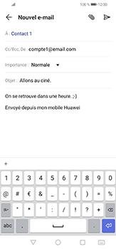 Huawei P30 lite - E-mails - Envoyer un e-mail - Étape 10