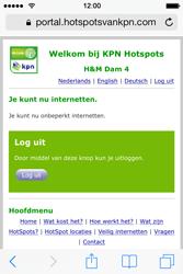 Apple iPhone 4 - WiFi - KPN Hotspots configureren - Stap 21