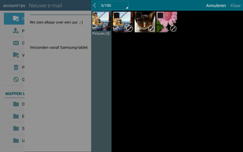 Samsung T805 Galaxy Tab S - E-mail - E-mails verzenden - Stap 15