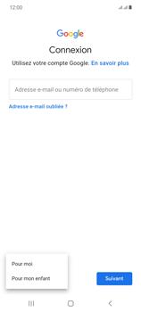 Samsung Galaxy Note20 - Applications - Créer un compte - Étape 6