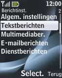 Nokia 2330 classic - SMS - handmatig instellen - Stap 5