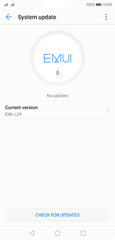 Huawei P20 - Software - Installing software updates - Step 6