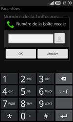 LG P940 PRADA phone by LG - Messagerie vocale - Configuration manuelle - Étape 7