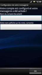 Sony Xperia Arc - E-mail - Configuration manuelle - Étape 10