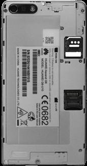 Huawei Ascend G6 - SIM-Karte - Einlegen - Schritt 6