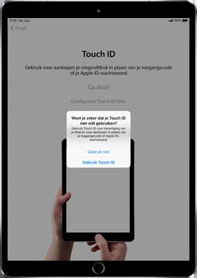 Apple ipad-pro-11-inch-2018-model-a1934 - Instellingen aanpassen - Activeer het toestel en herstel jouw iCloud-data - Stap 12